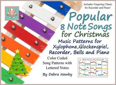 Popular 8 Note Christmas Songs